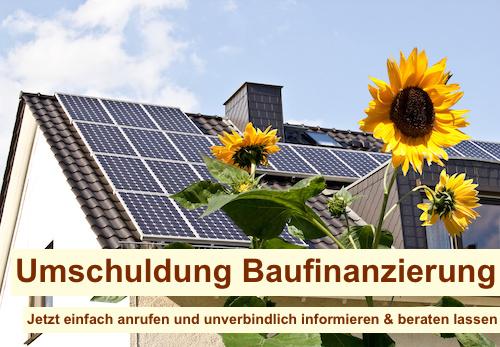 Umschuldung Baufinanzierung Berlin Brandenburg