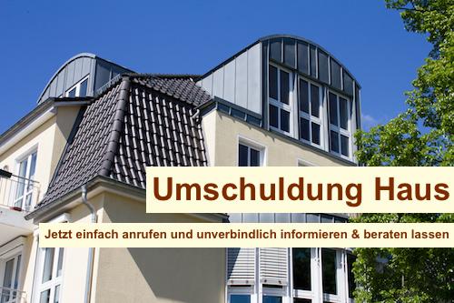 Umschuldung Haus Berlin